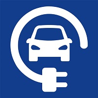 Electric Car Charging Symbol